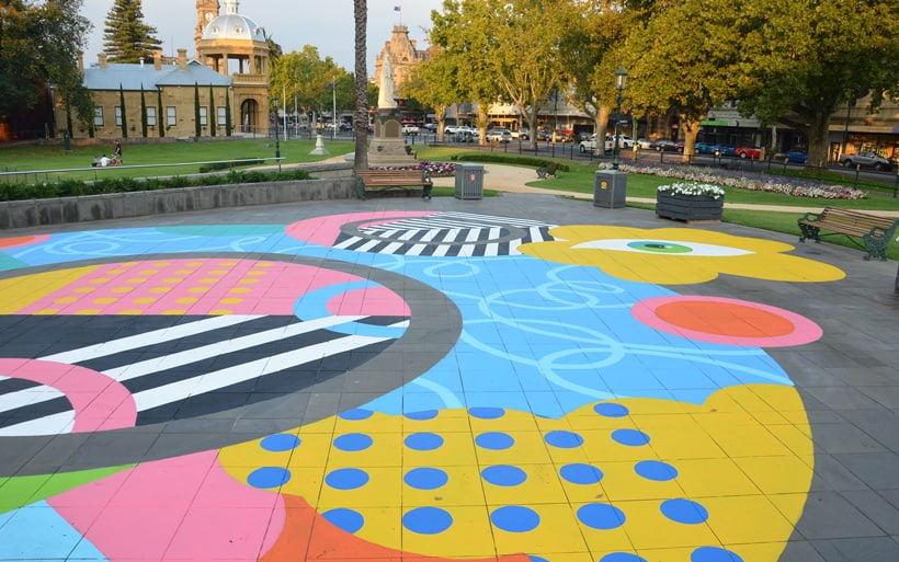 street art in Bendigo