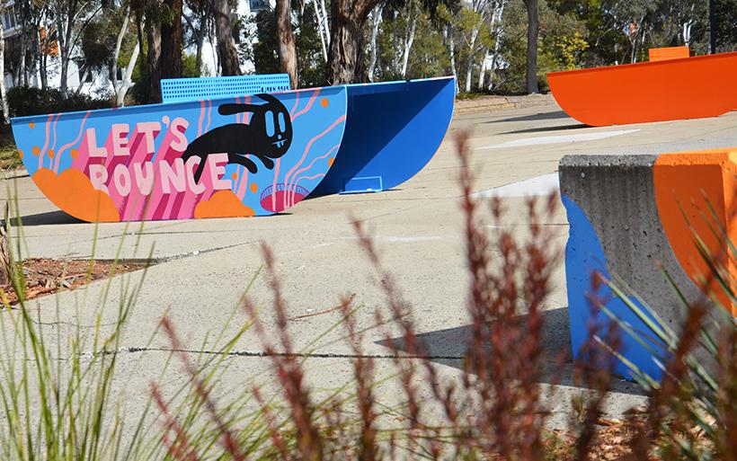 ping pong street art