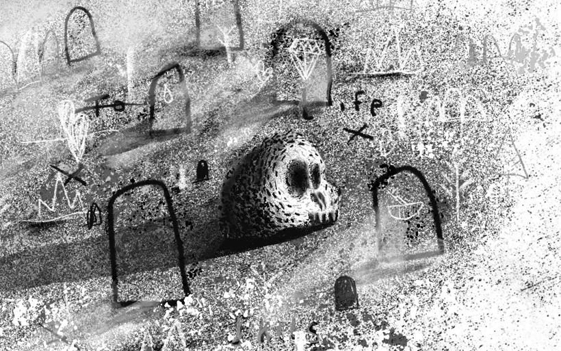 artshool skull