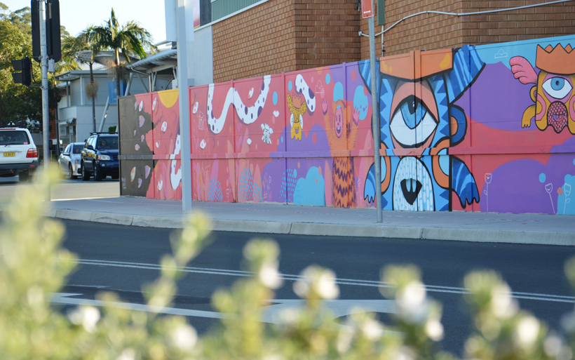 Batemans Bay street art
