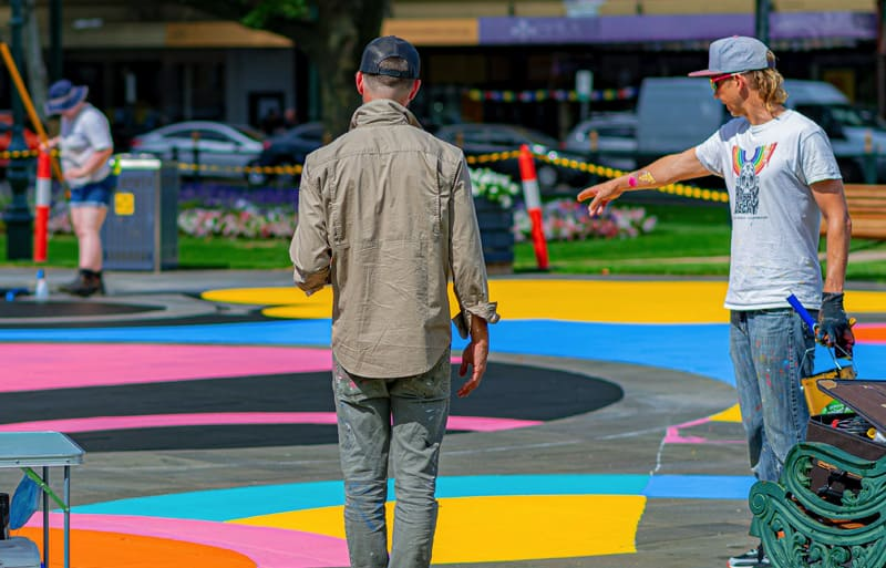 placemaking artist