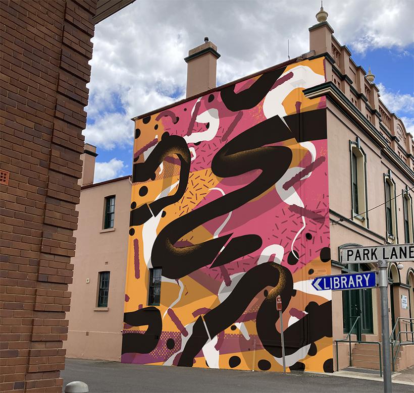 street art Braidwood