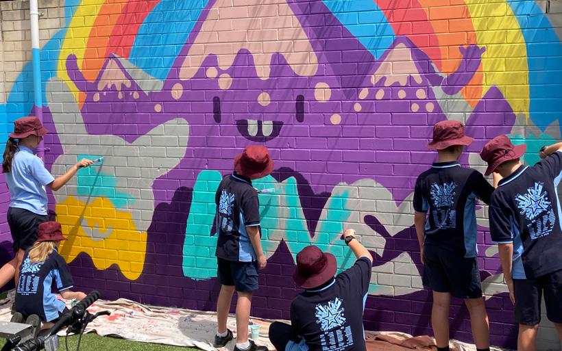 canberra school mural workshop