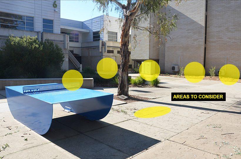 canberra ping pong street art