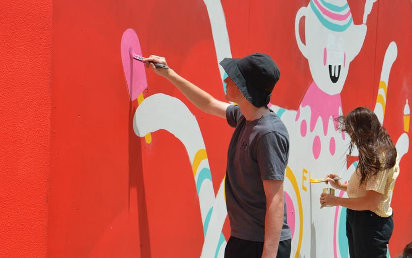 street artist workshop