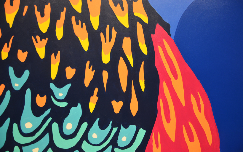 kukulas mural detail