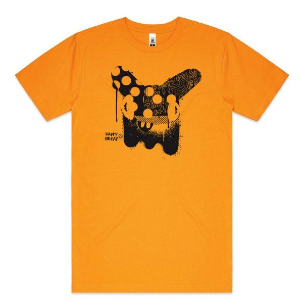 gold bunny tshirt