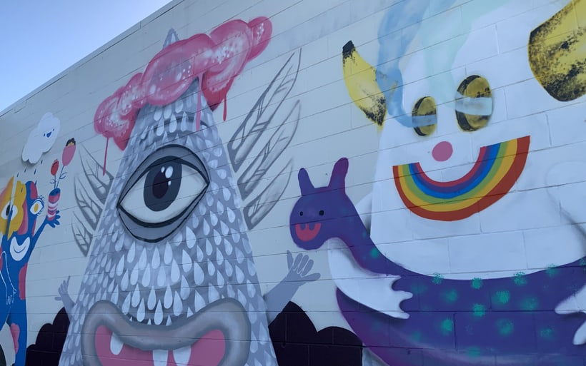 mural gold coast side angle