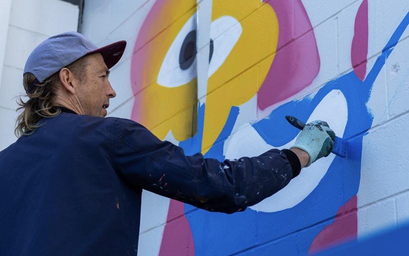 hire mural artist