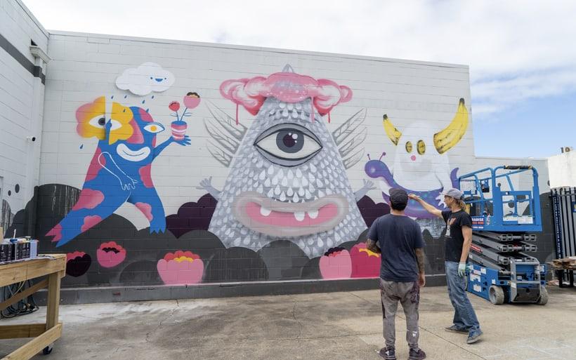 gold coast street artist