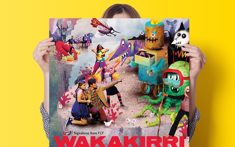 wakakirri poster design