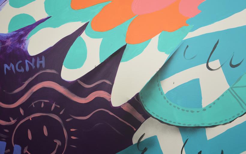 drop shadow effects street art