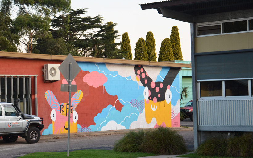 moruya street art