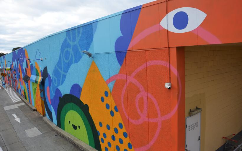 mural character