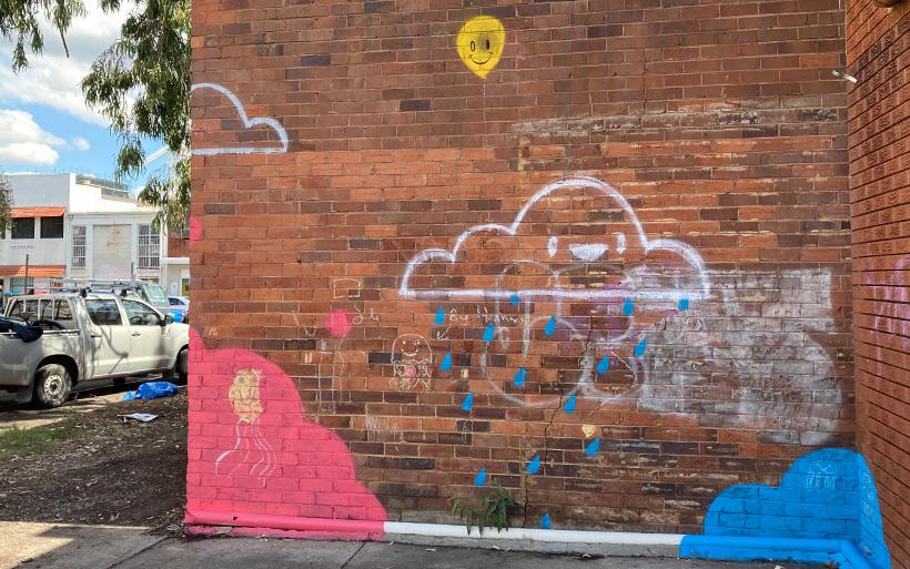 street art penrith