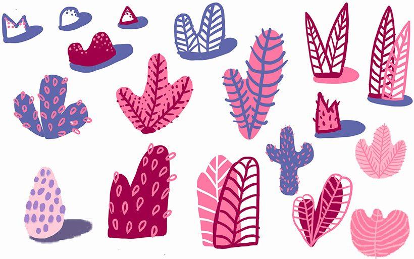 mural plants