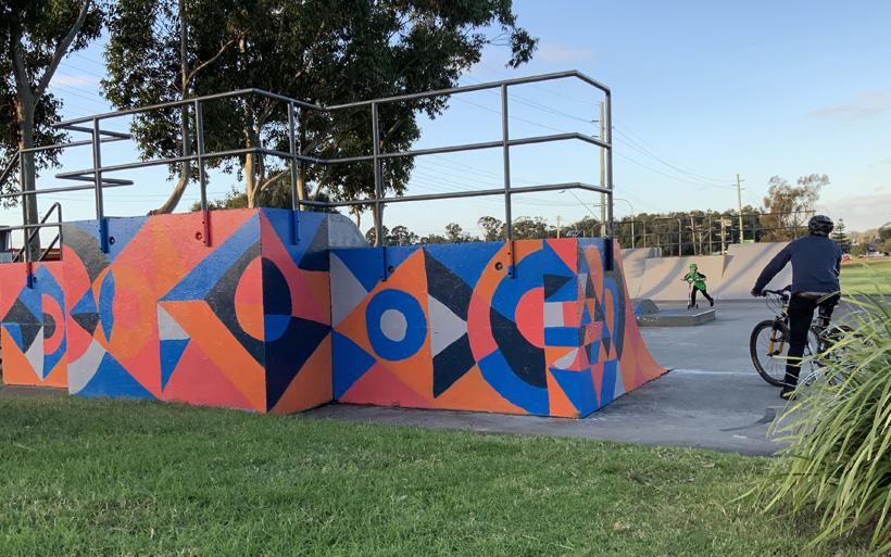 New street art for Albion Park