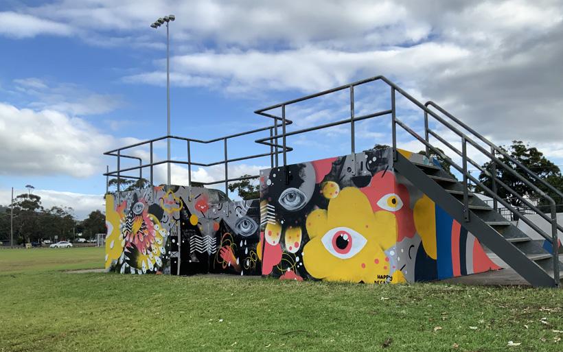 ramp street art