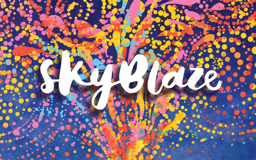 skyblaze logo