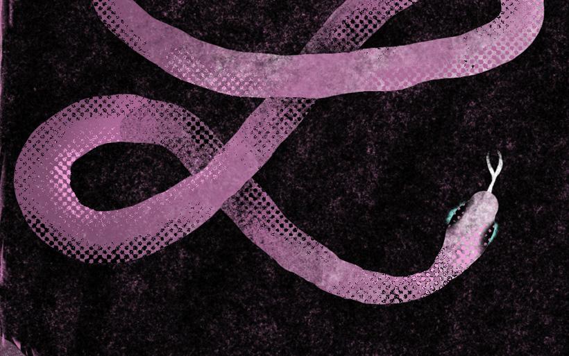 halftone snake