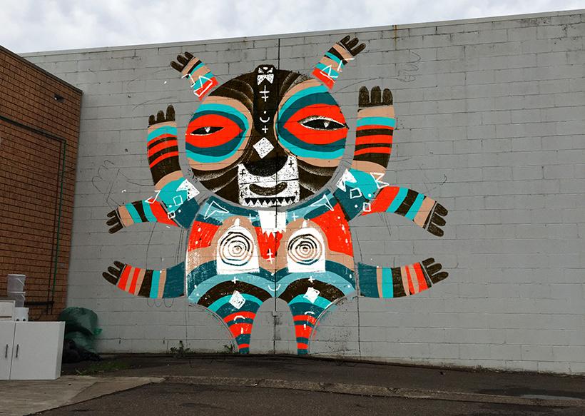 stret art mural