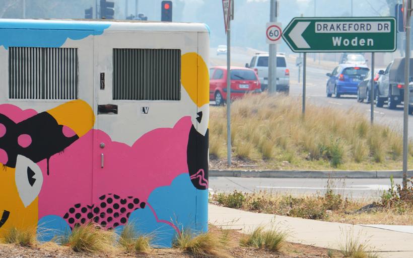 kambah street art