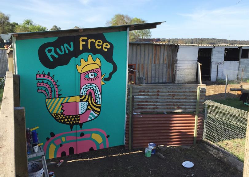 farm street art