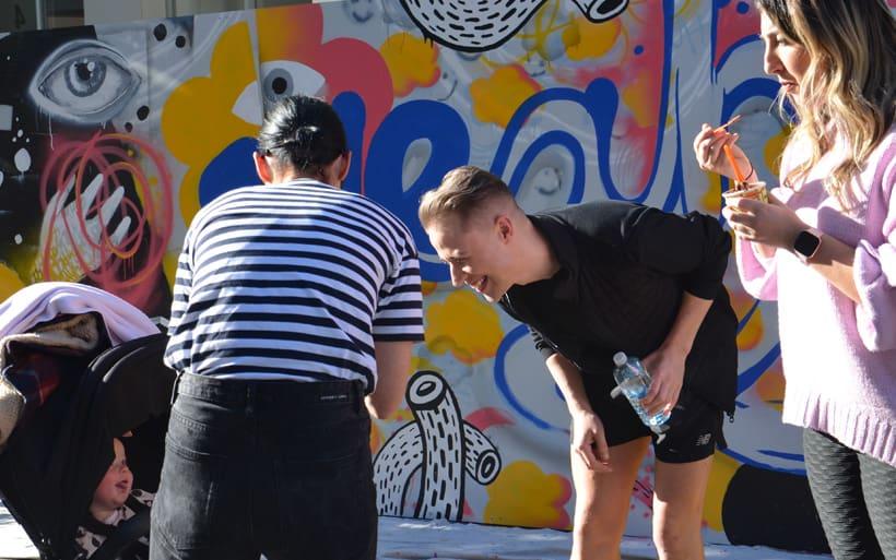 sydney mural family