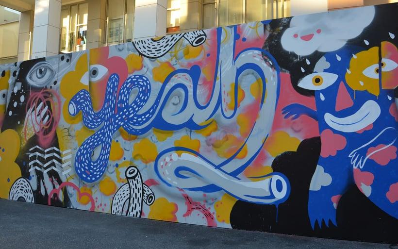 yeah mural