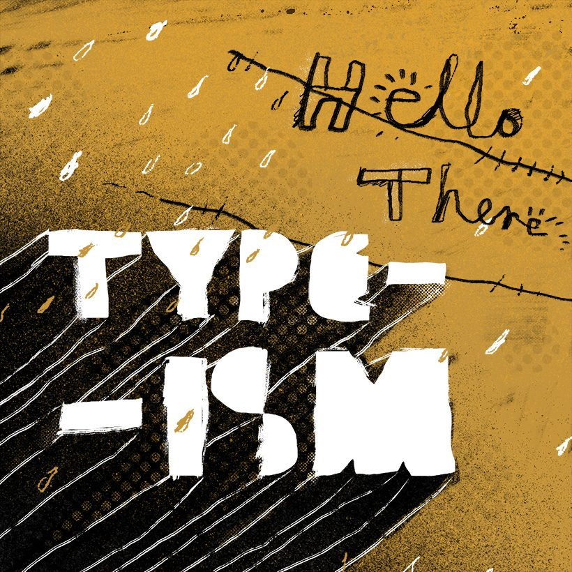 typism lettering